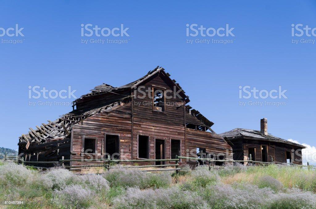 John Carmichael Haynes homestead stock photo
