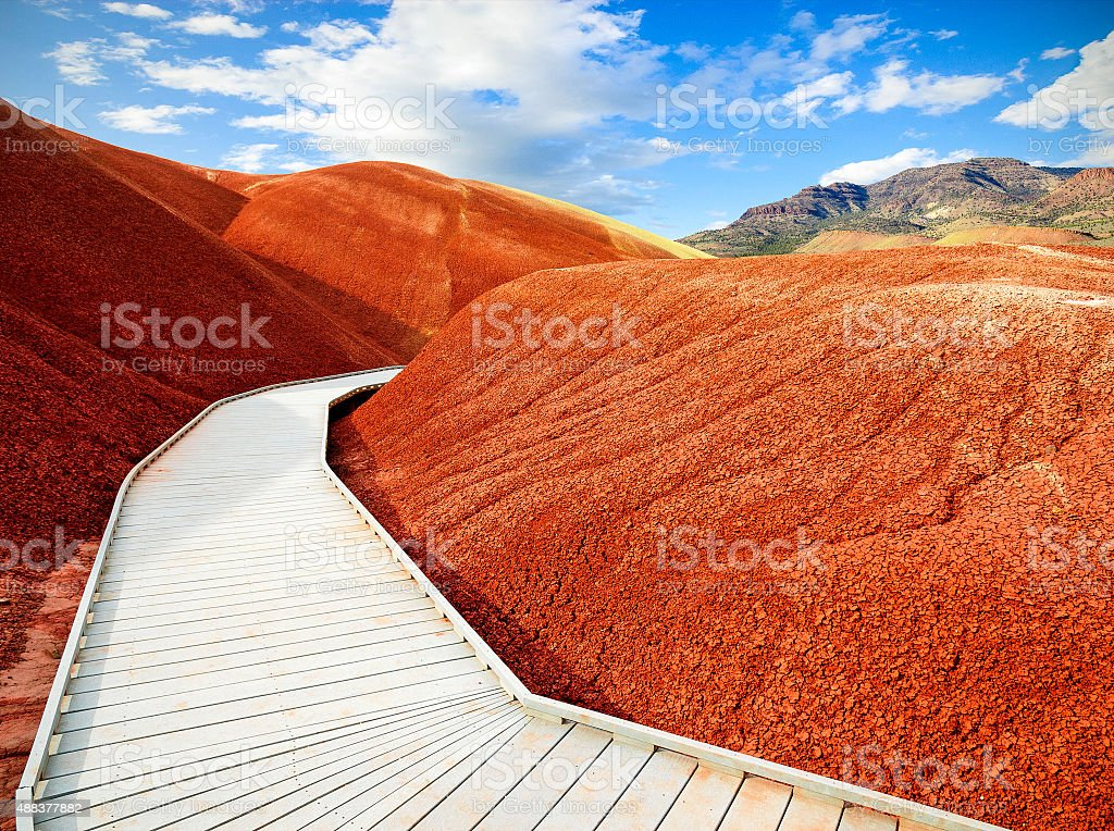 John Day Fossil Beds National Monument stock photo