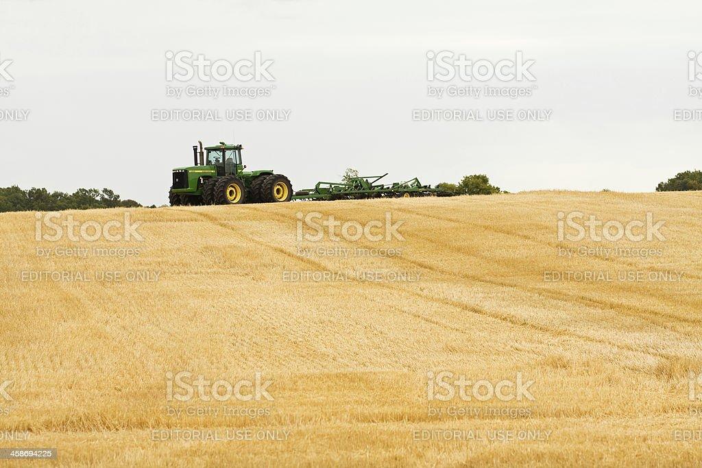 John Deere 9400 Tractor stock photo