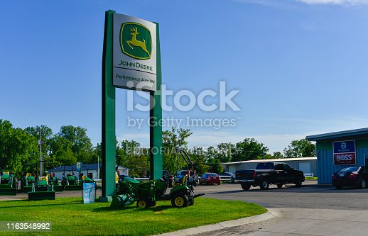 Performance Auto NW, located in Jackson, Michigan is a dealership for John Deere agricultural equipment.