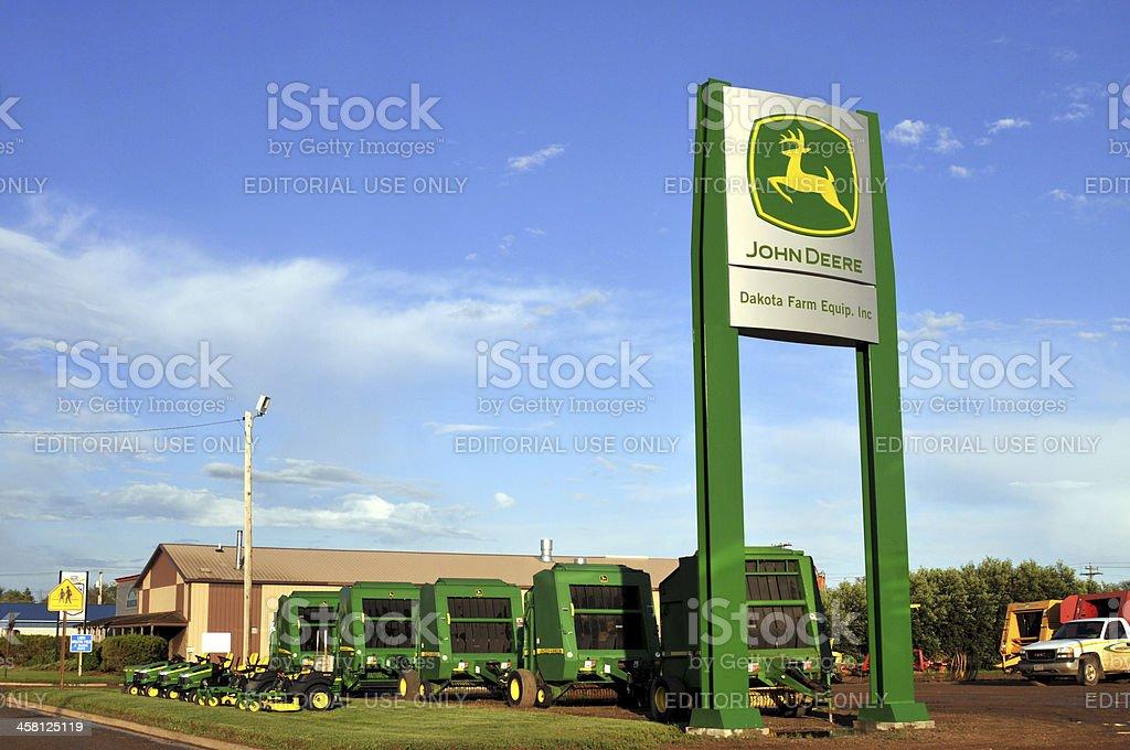 John Deere dealership stock photo