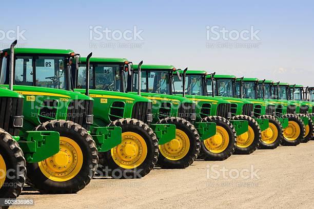 John Deere Tractors Stockfoto und mehr Bilder von Agrarbetrieb