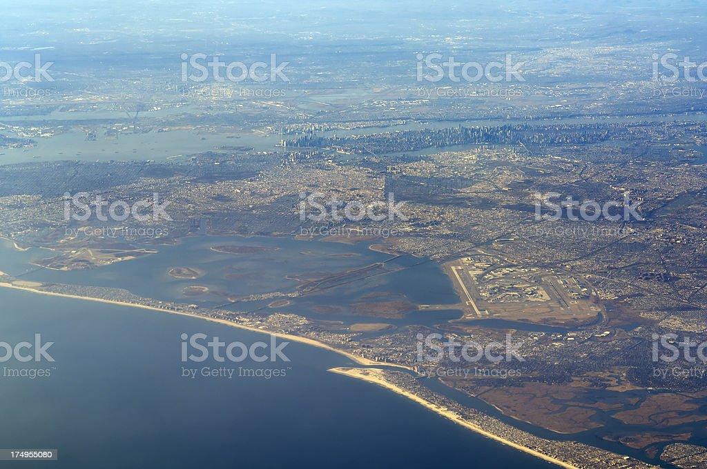 Aeropuerto John F. Kennedy - foto de stock