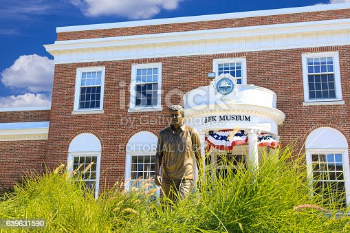 istock John Fitzgerald Kennedy (JFK) Museum, Hyannis, Cape Cod, Massachusetts, USA. 639631590
