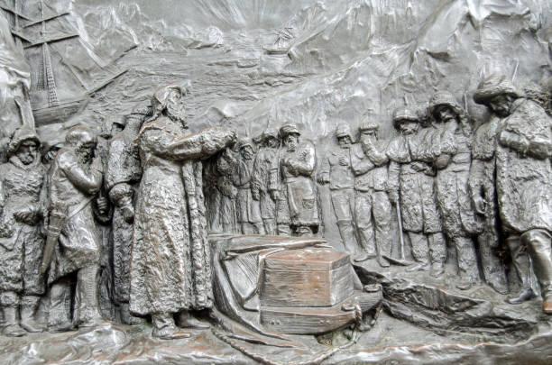 約翰·佛蘭克林紀念碑細節, 倫敦 - john lewis 個照片及圖片檔