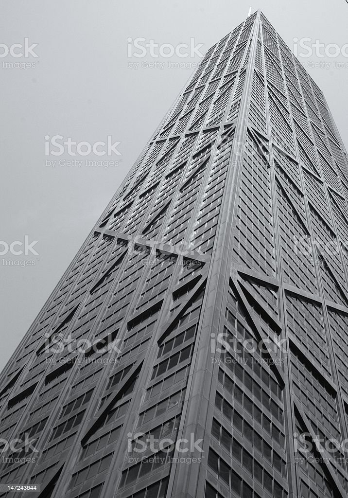 John Hancock Building royalty-free stock photo
