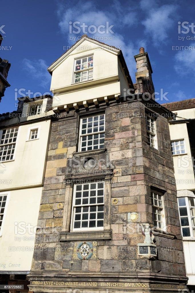John Knox House, Edinburgh, Scotland stock photo