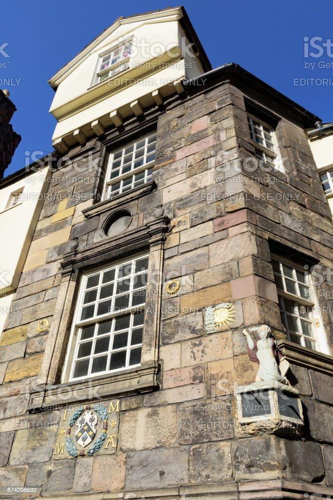 John Knox House, Royal Mile, Edinburgh stock photo