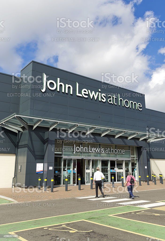 John Lewis At Home store exterior stock photo