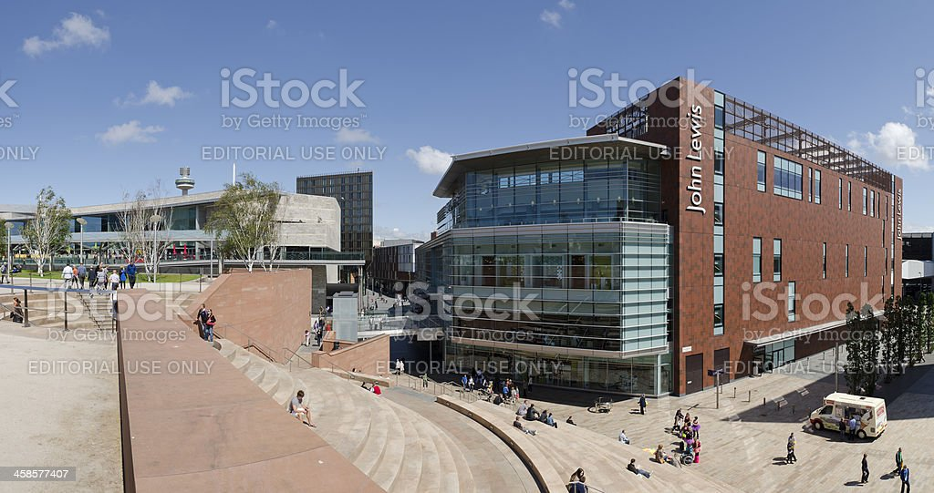 John Lewis department store, Liverpool stock photo