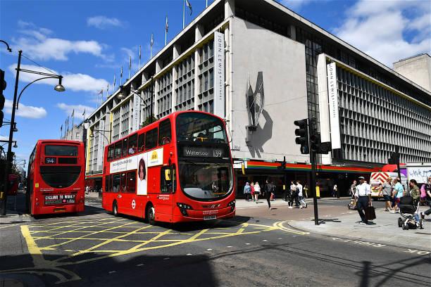 約翰·路易斯百貨公司在牛津街,倫敦,英國。 - john lewis 個照片及圖片檔