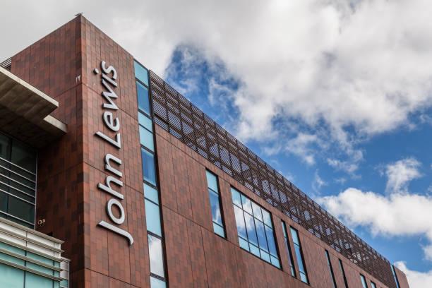 約翰路易斯商店在利物浦, 英國 - john lewis 個照片及圖片檔