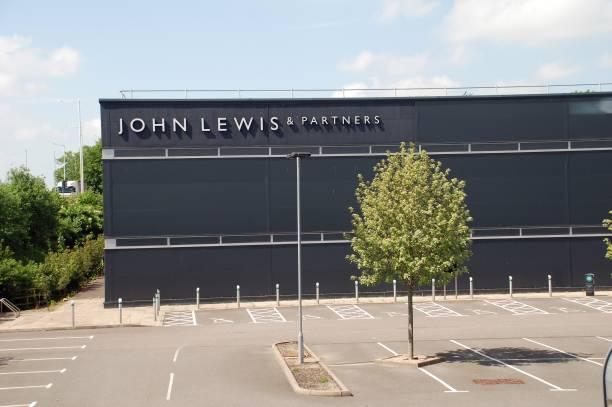 John Lewis store, Ashford stock photo