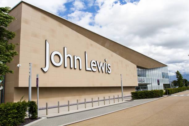 英國約翰 · 路易斯的大型超市 - john lewis 個照片及圖片檔
