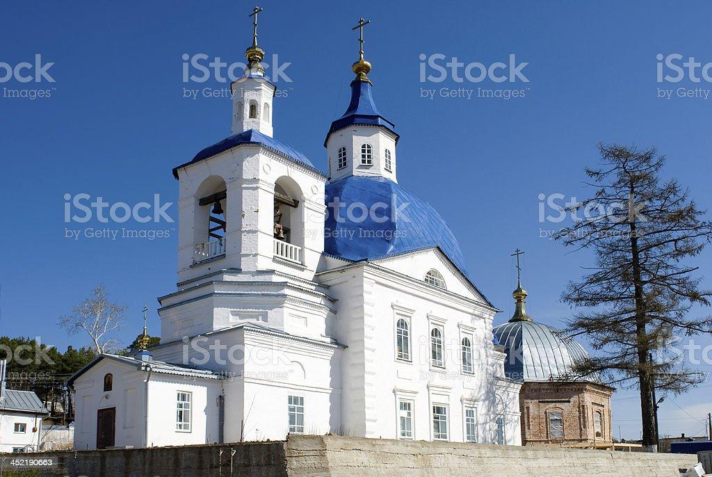 John Predtechi's church. Tobolsk district. Russia royalty-free stock photo