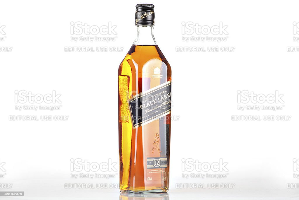Johnnie Walker Black Label Whiskey Stock Photo More Pictures Of