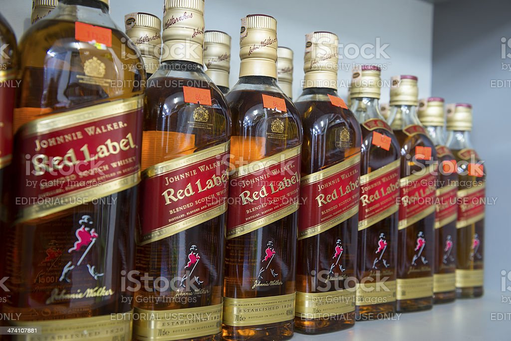 Johnnie Walker Red Label Stock Photo More Pictures Of Addiction