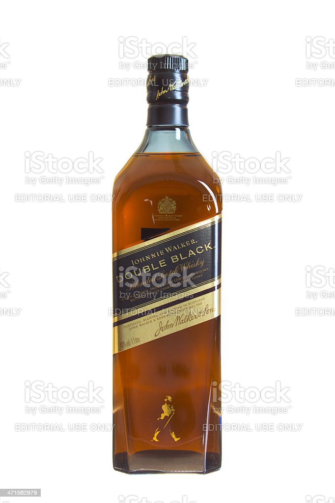 Johnnie Walker Scotch Whisky royalty-free stock photo