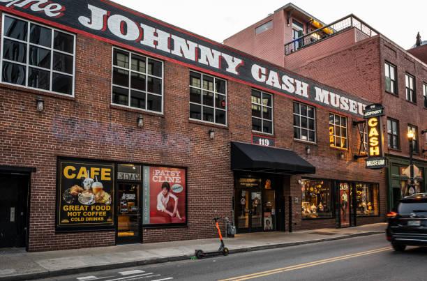 Johnny Cash Museum stock photo
