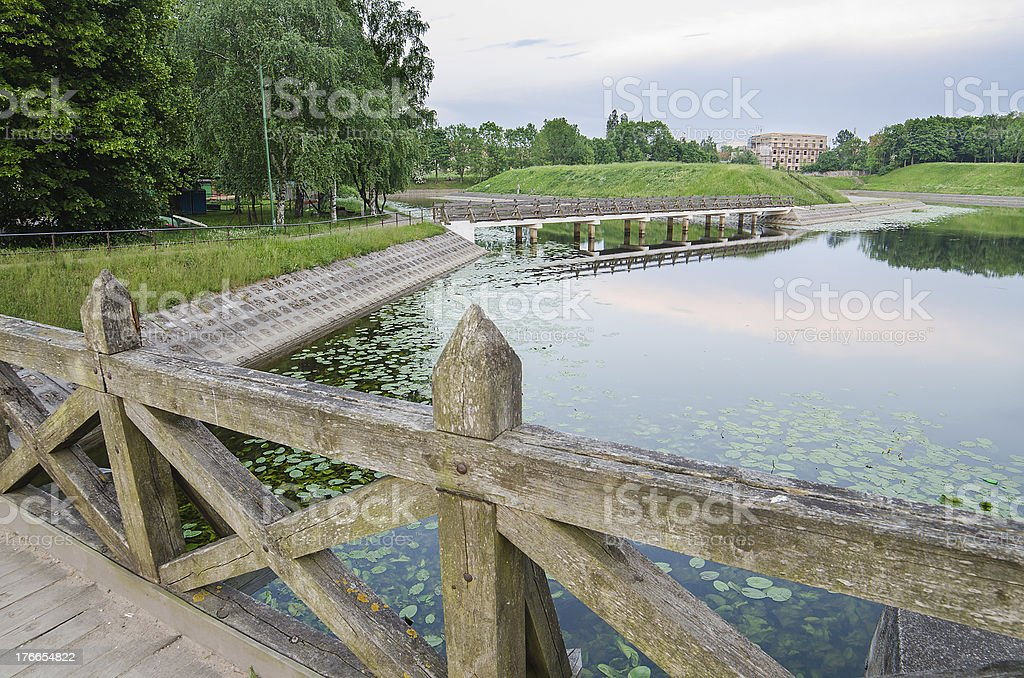 John's hill in Klaipeda, Lithuania royalty-free stock photo