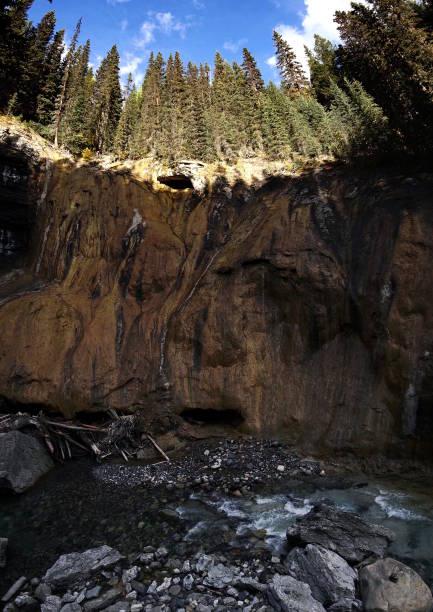 Johnston Canyon stock photo