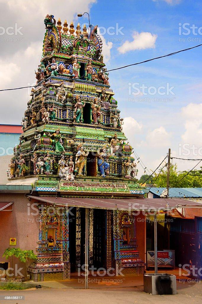 Johor Bahru - Glass Temple stock photo
