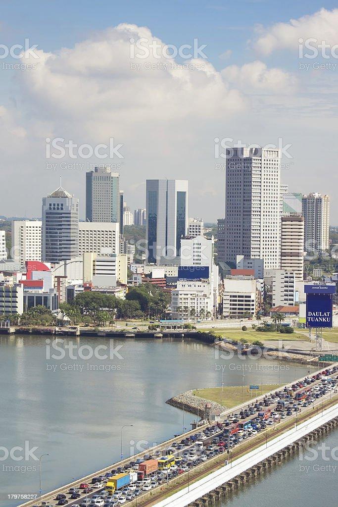 Johor Bahru stock photo