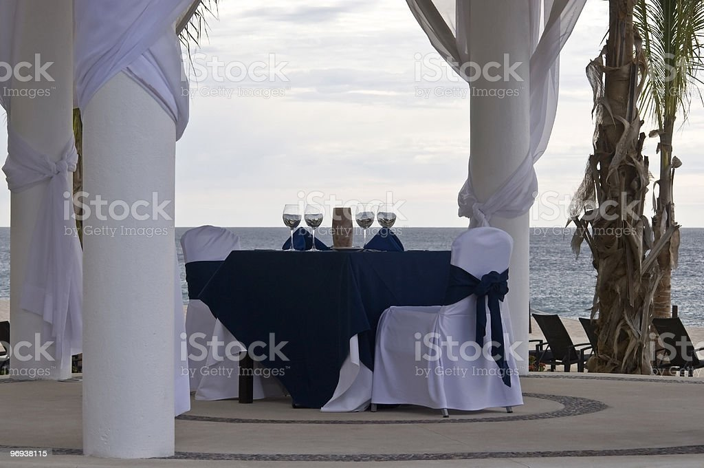 join me for a romantic meal royalty-free stock photo