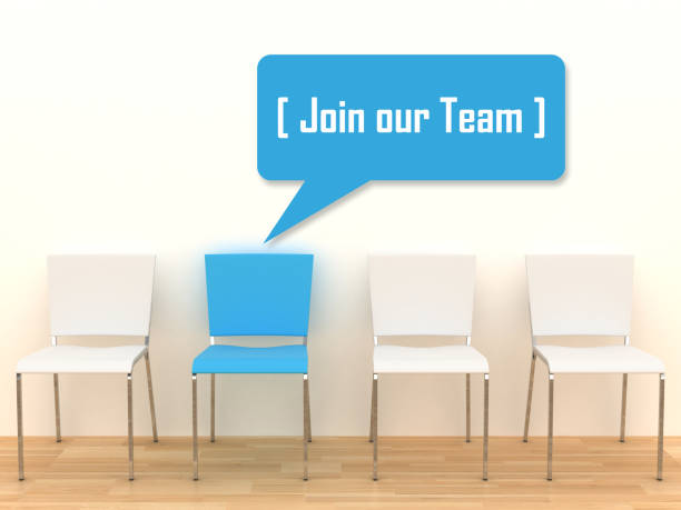 Join our team job recruitment stock photo