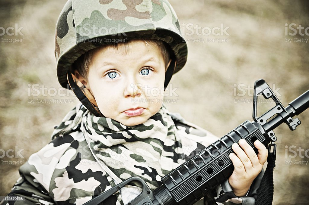 Join the army they said ... royalty-free stock photo