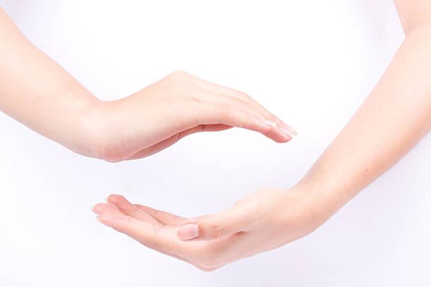 Sie zwei geschlossen Hände die Macht möge mit dir sein – Foto