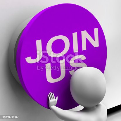 Join Us Button Meaning Register Volunteer Or Sign Up