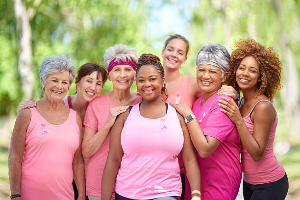 Join us in helping to raise breast cancer awareness - foto de stock