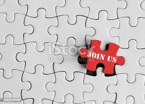 Join us concept jigsaw puzzle