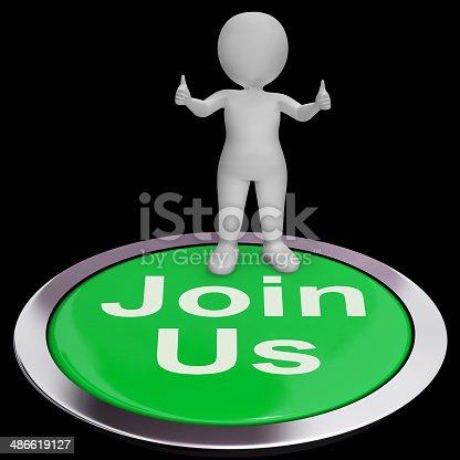 Join Us Showing Registering Membership Or Club