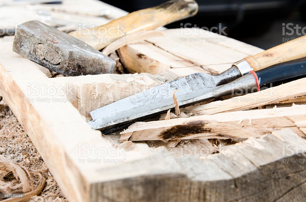 joinery tools royalty-free stock photo