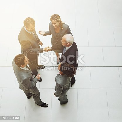 istock Joining forces 481426280