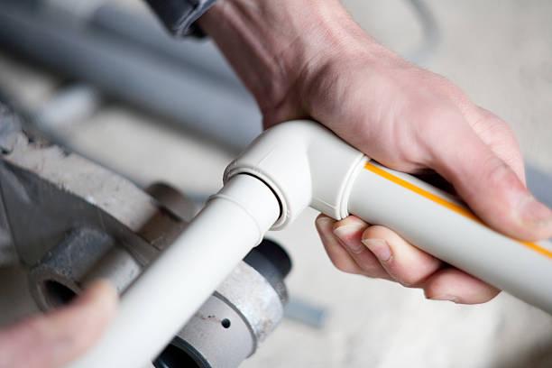Bei Kunststoff pipe – Foto