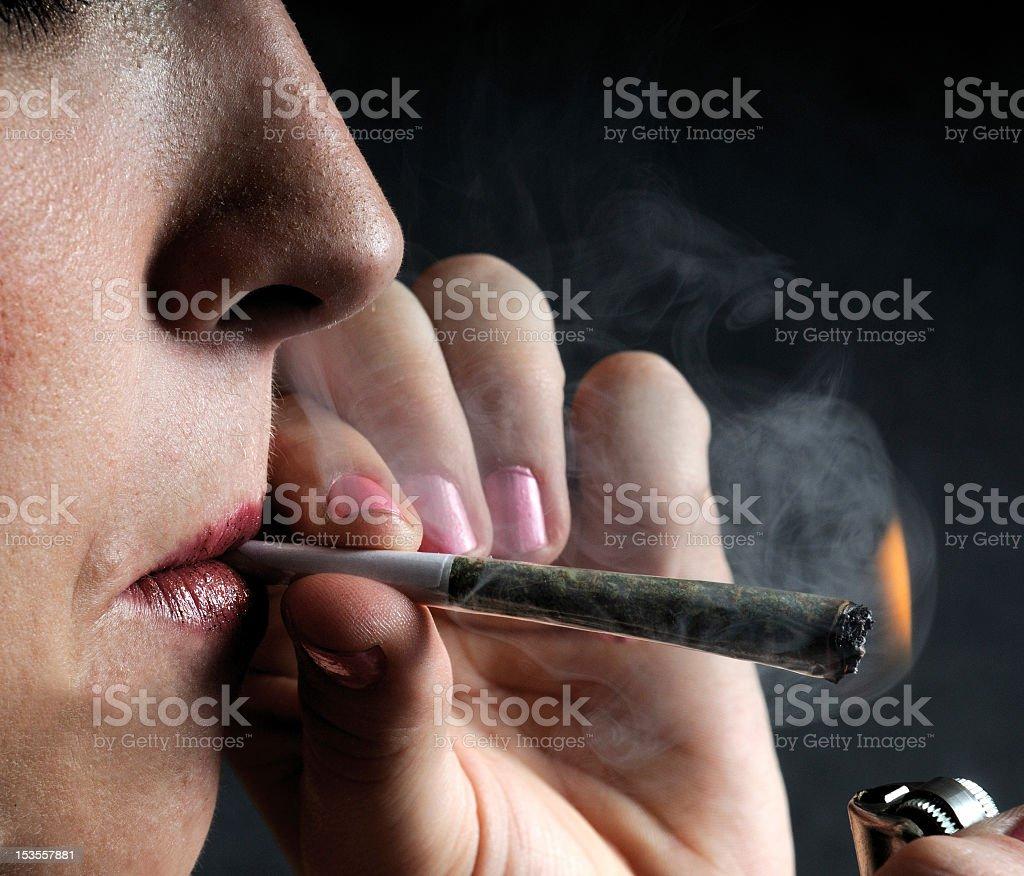 Joint Blaze stock photo