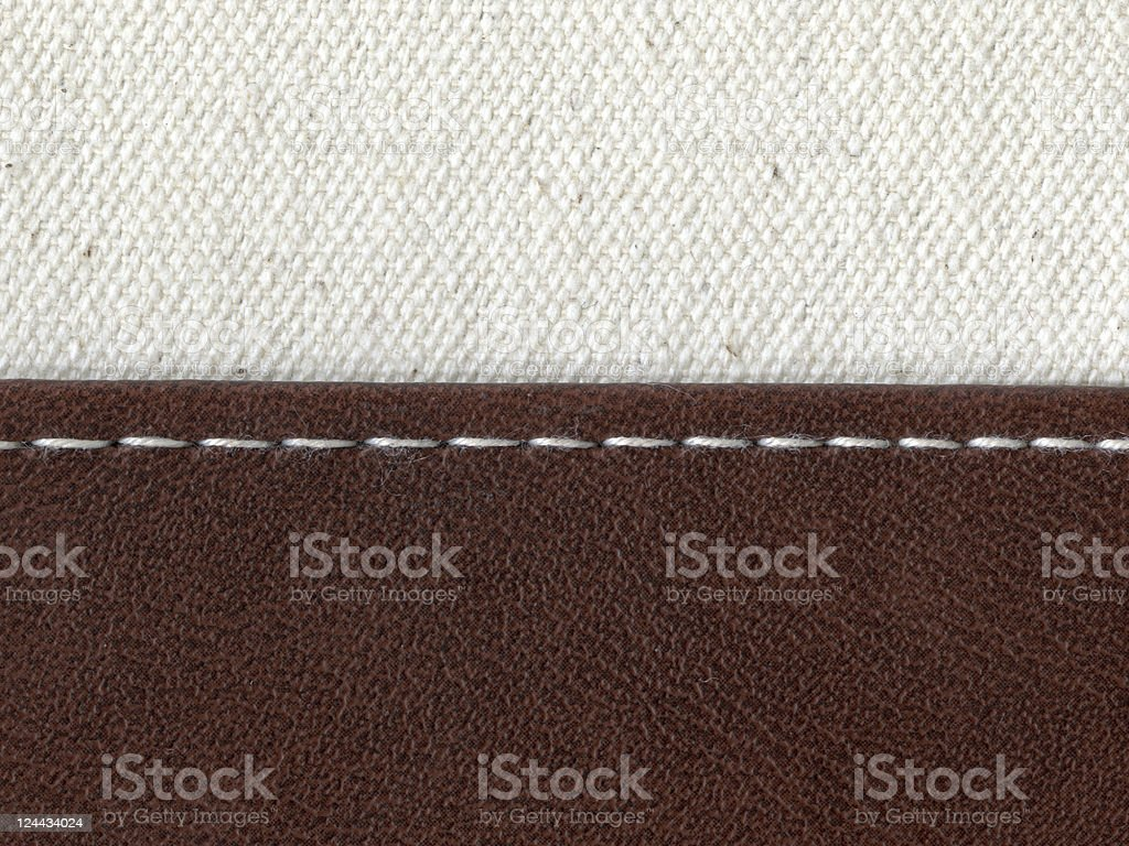 jointed by stitch royalty-free stock photo