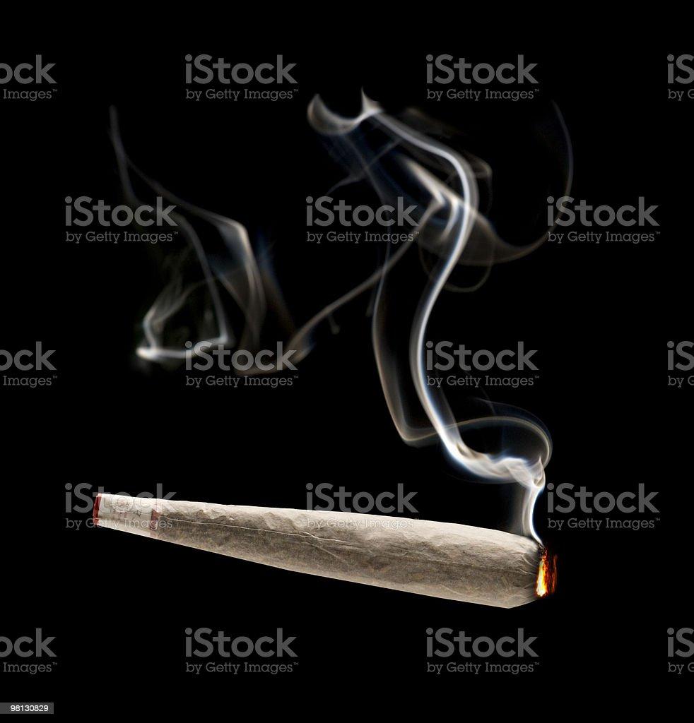 joint,marijuana royalty-free stock photo