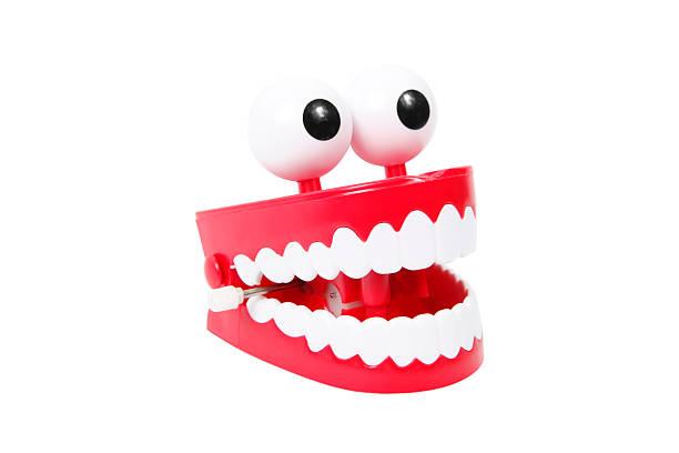 Joke Teeth stock photo