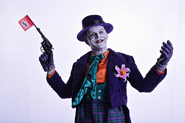 Joker Face stock photo