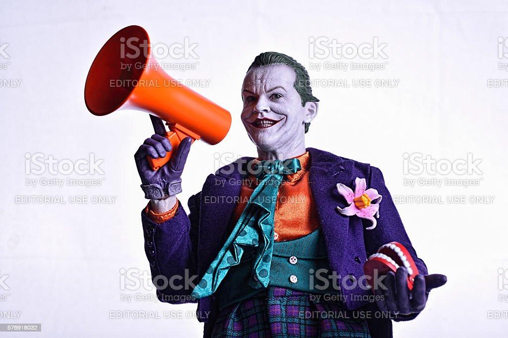 Joker From Batman - foto stock