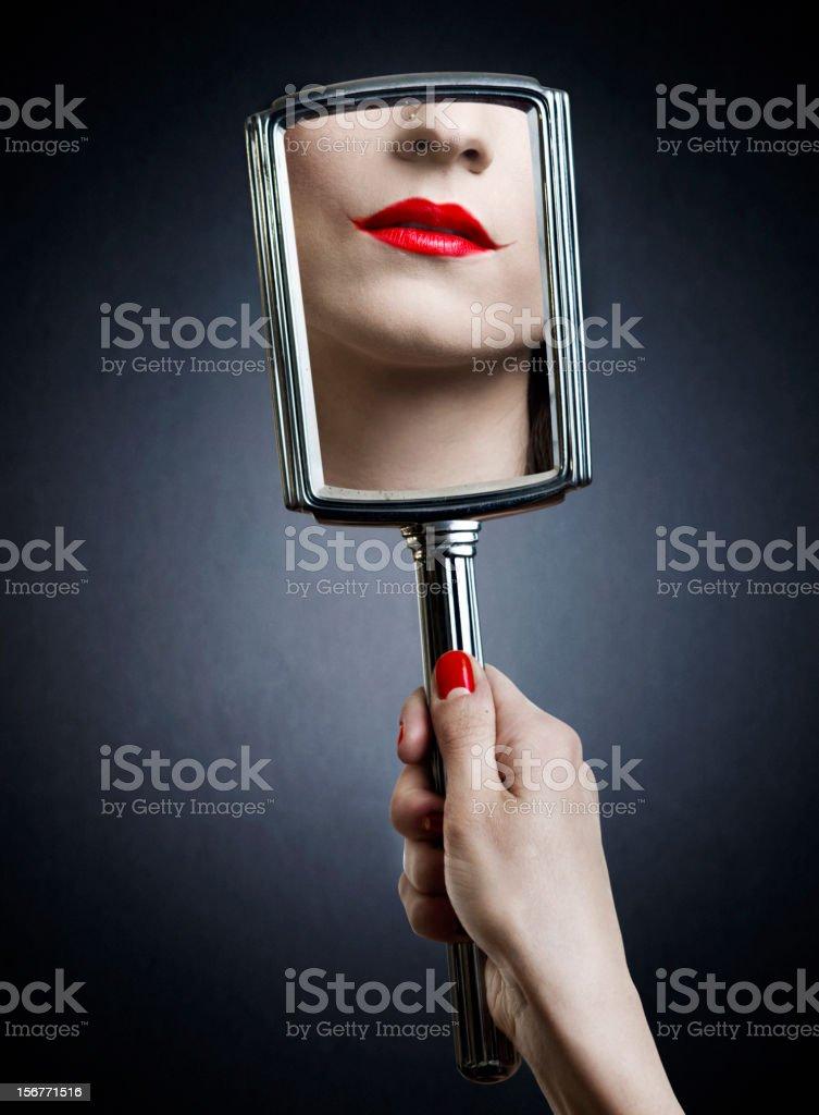 Joker make-up stock photo