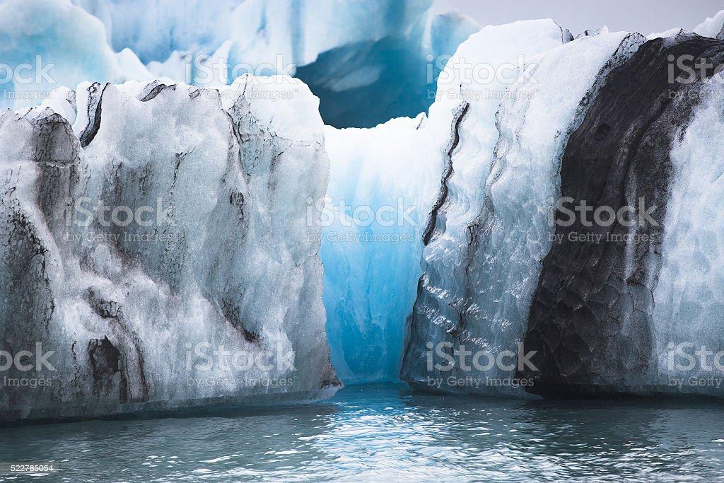Jokulsarlon Glacial Lagoon stock photo