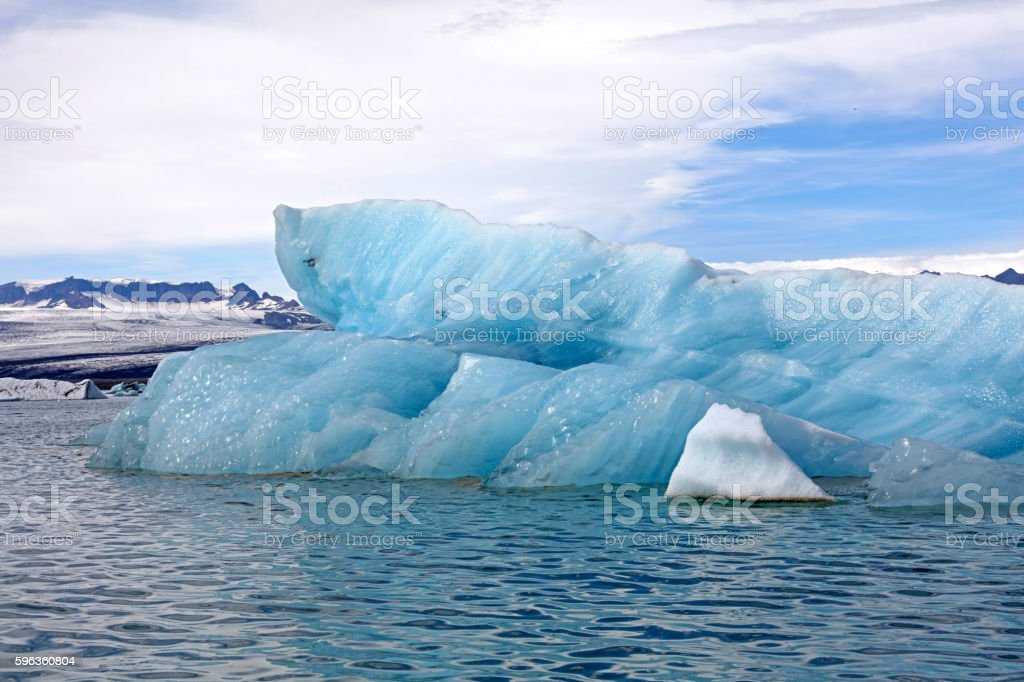 Jokulsarlon Glacier Lagoon, Iceland royalty-free stock photo