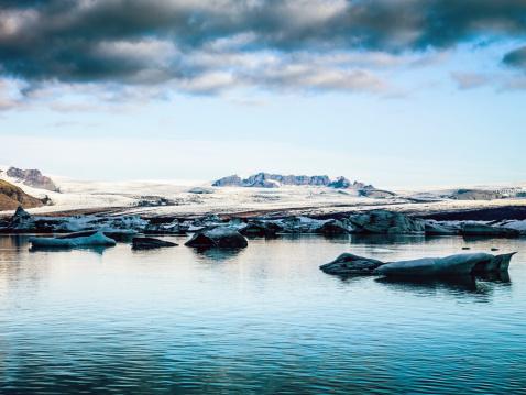 Jokulsarlon Icebergs Iceland Stock Photo - Download Image Now