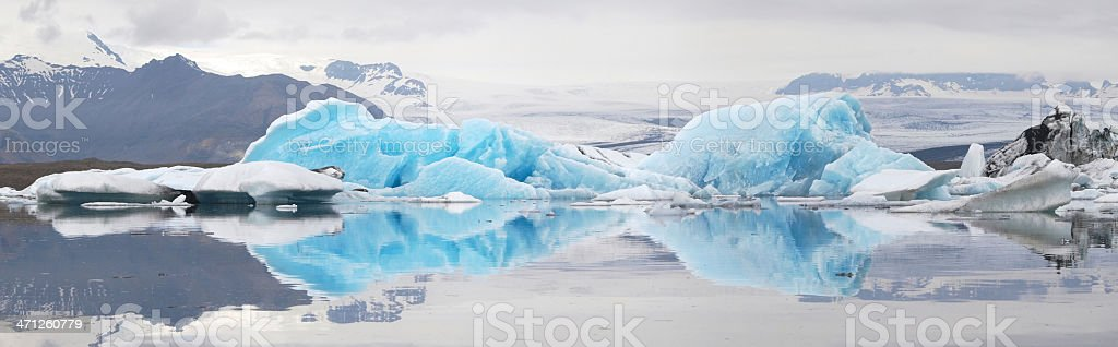 Jokulsarlon royalty-free stock photo