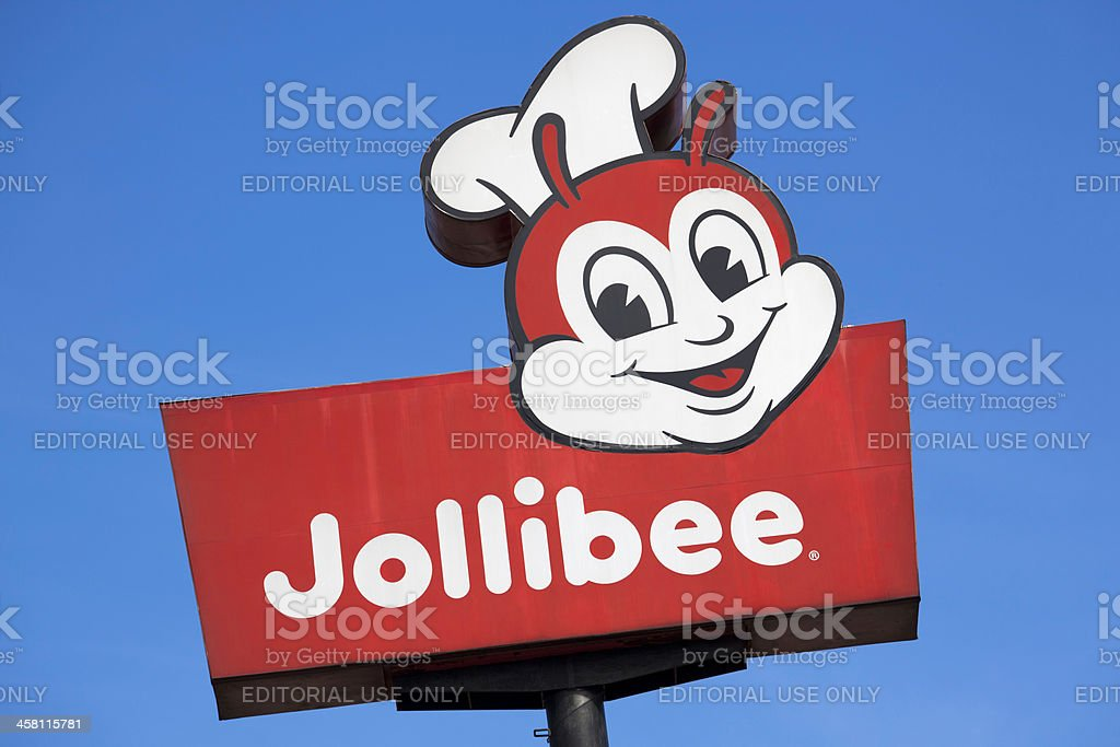 Jollibee Sign Stock Photo More Pictures Of Asia Istock